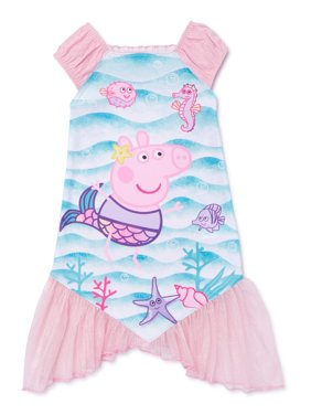 Peppa Pig Toddler Girls' Fantasy Nightgown Pajamas