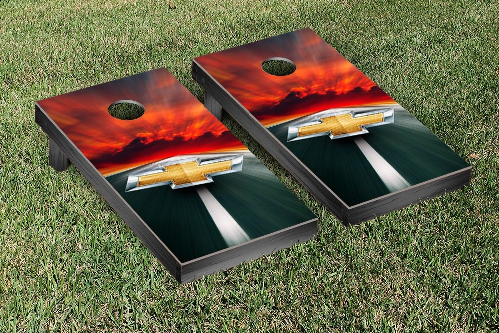 Chevy Cornhole Game Set by Victory Tailgate