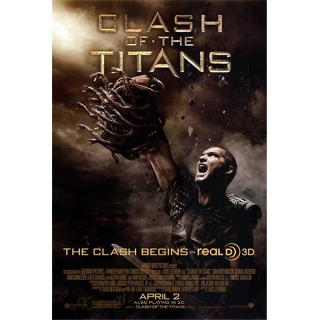 """MOVIE POSTER CLASH OF THE TITANS SIZE: 27/"""" X 40/"""" PRINT"""