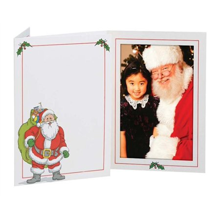 Tap Picture Santa Folder Frame (package of 100) 4x6
