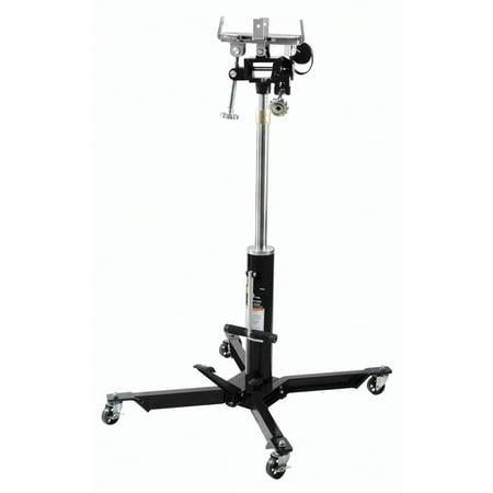 Omega 41100C Black Low Profile Hydraulic Transmission Jack, 1100 lb. Capacity ()