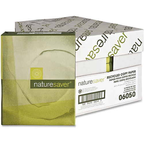 Nature Saver Recycled 92 Bright Paper