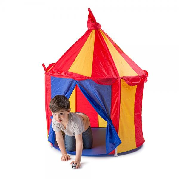 Childrenu0027s Indoor Play Tent -- CIRCUS TENT- Great Gift for Kids  sc 1 st  Walmart & Childrenu0027s Indoor Play Tent -- CIRCUS TENT- Great Gift for Kids ...