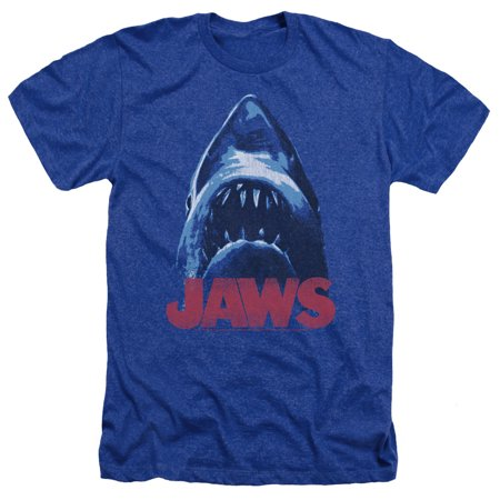 Jaws From Below Mens Heather Shirt