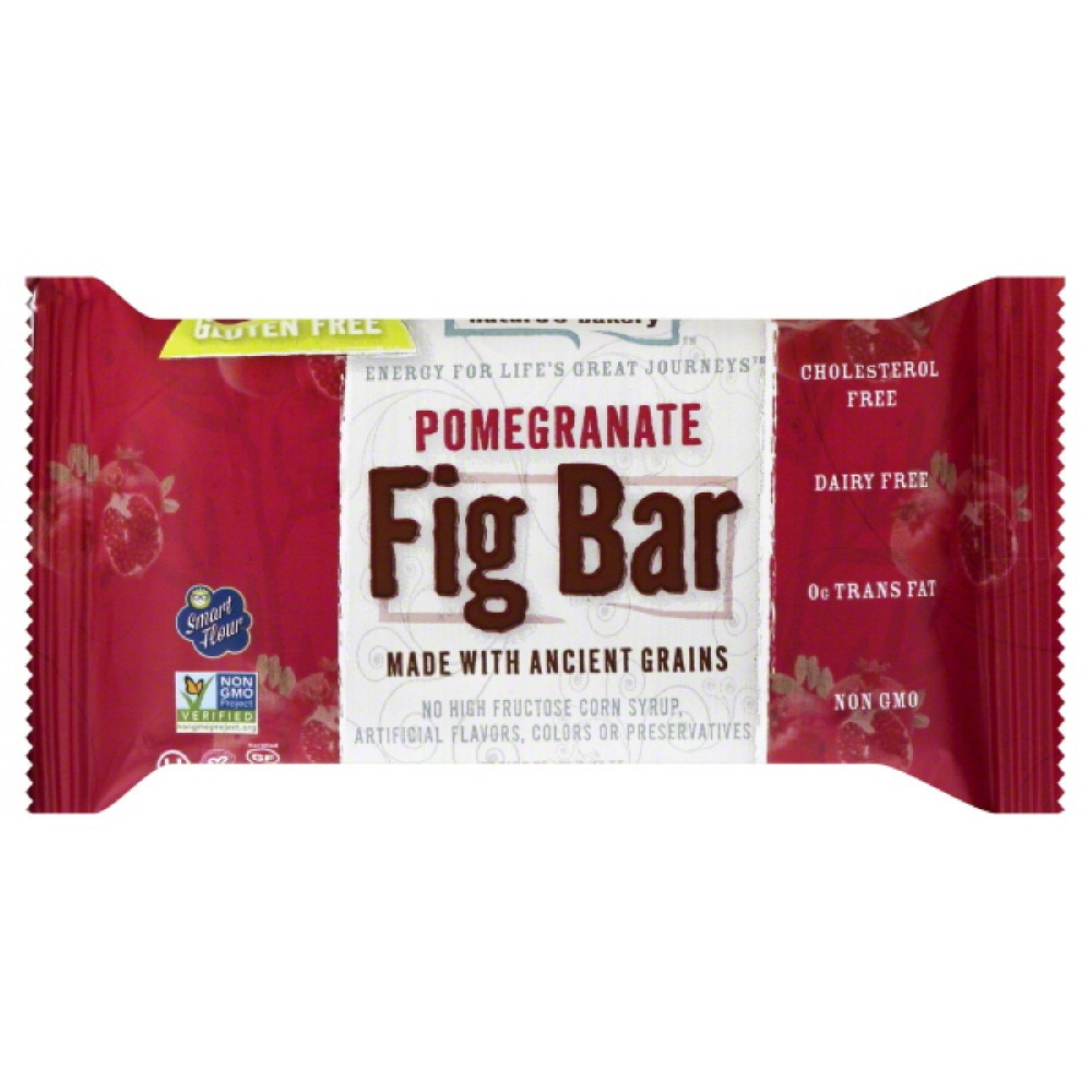 Nature's Bakery Pomegranate Fig Bar, 2 Oz