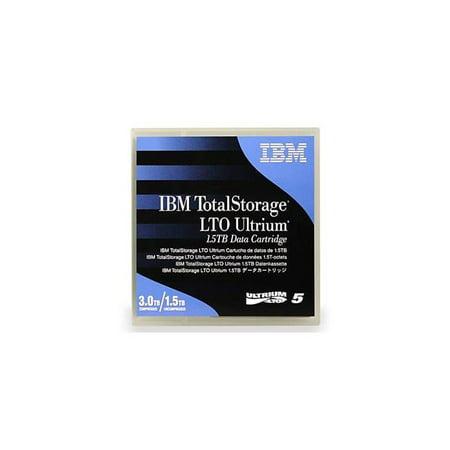 IBM 46X6666 Tape, LTO, Ultrium-5, 1.5TB-3.0TB with Barcode Label