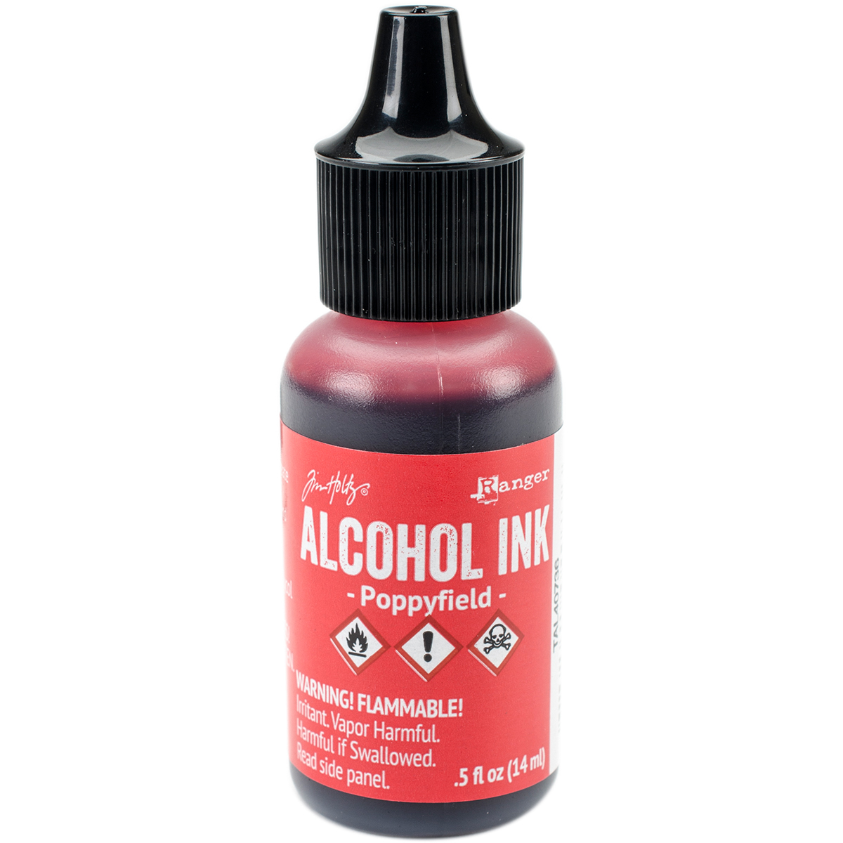 Tim Holtz Alcohol Ink .5oz-Poppyfield