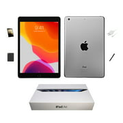 Refurbished Apple iPad Air 64GB, Space Gray, Wi-Fi Only, 9.7-inch, Plus Bundle: Original Box, Case, Tempered Glass, Stylus Pen, and Generic Charger