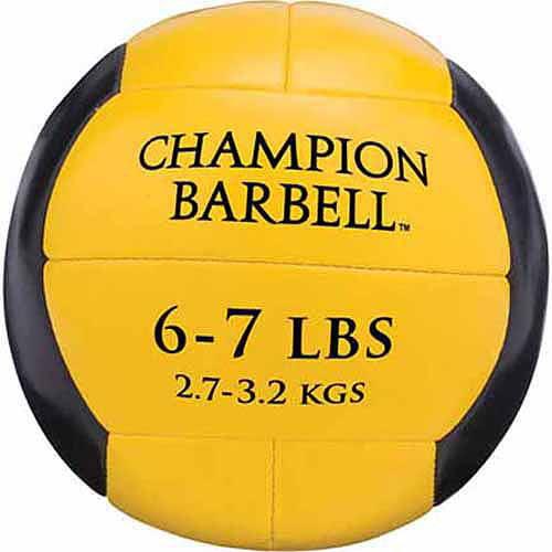 Champion Medicine Ball, Yellow