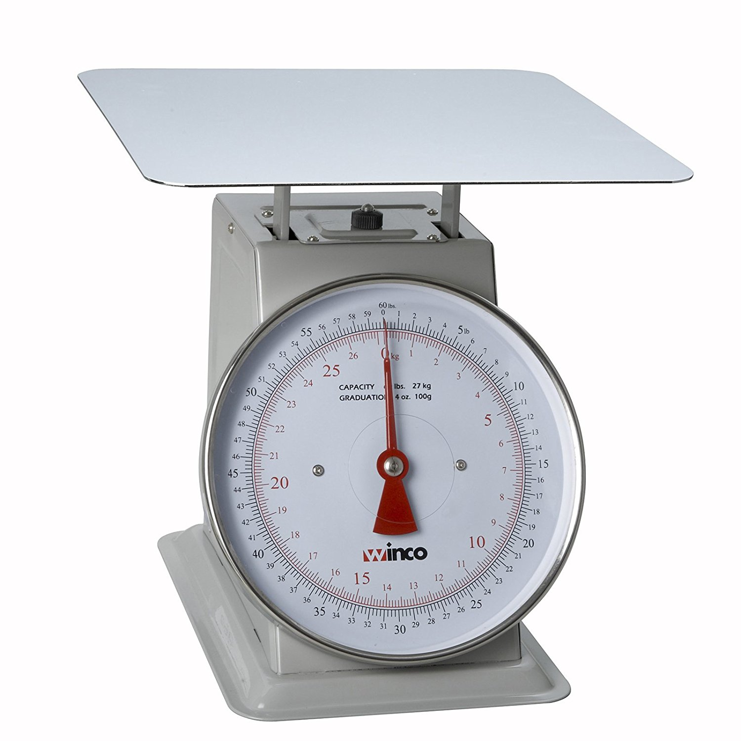 Winco SCAL-960 60-Pound Scale with 9-Inch Dial
