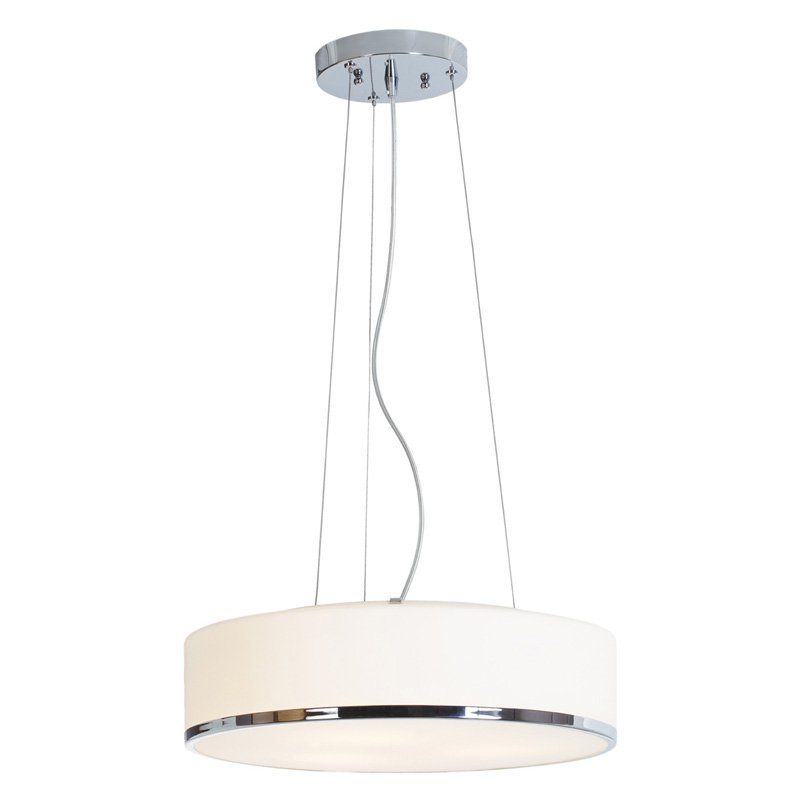Access Lighting Aero 20673LEDD-CH OPL Drum Pendant by Access Lighting