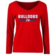 Fresno State Bulldogs Women's Team Strong Long Sleeve T-Shirt - Red