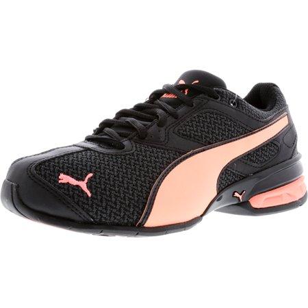 d59fa211c6478c PUMA - Puma Women s Tazon 6 Knit Black   Nrgy Peach Low Top Cross Trainer  Shoe - 6M - Walmart.com