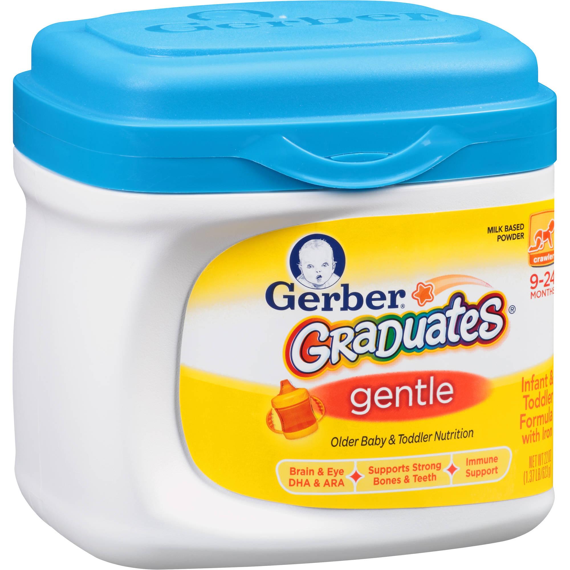 Gerber Graduates Gentle Powder Older Baby and Toddler Formula, 22 Ounce