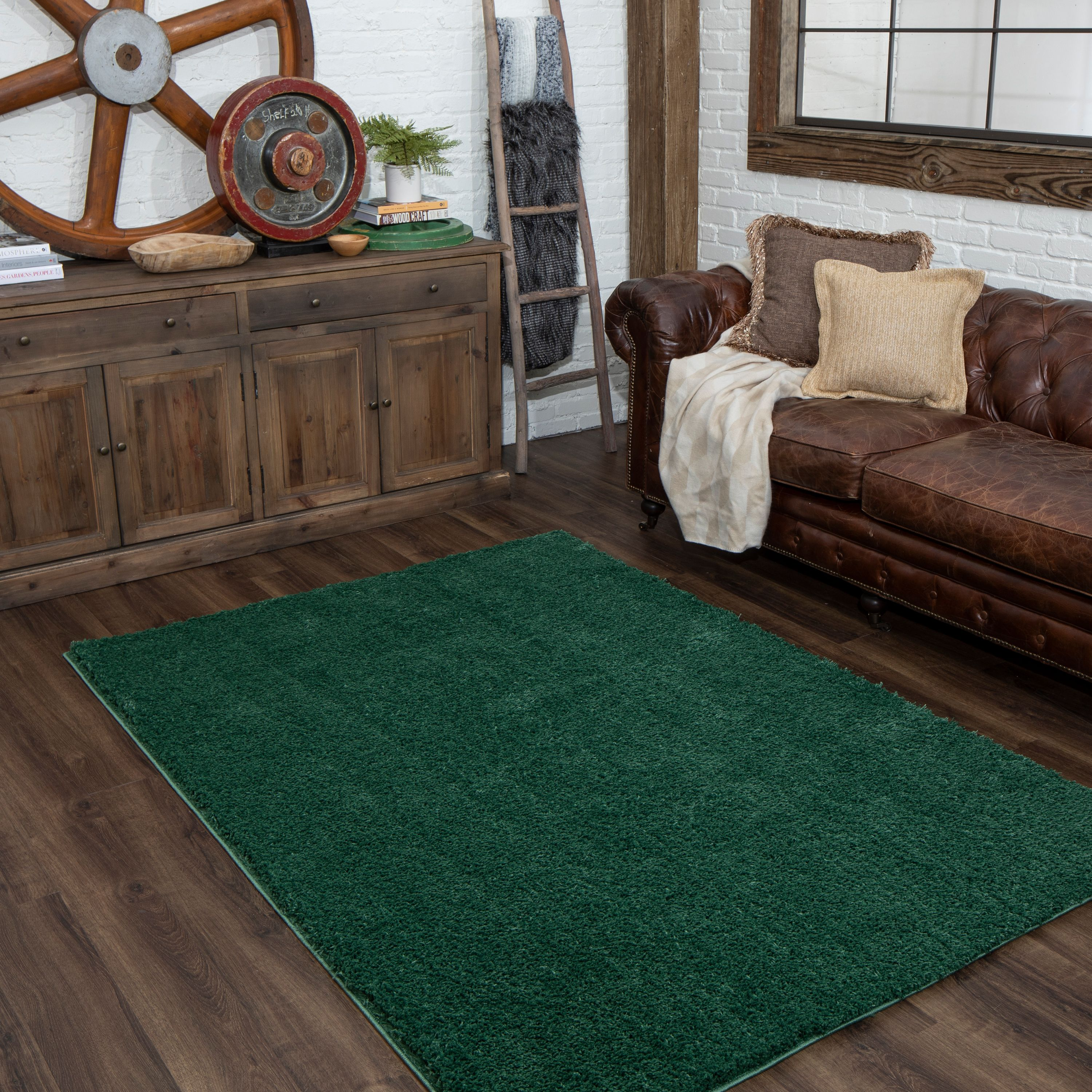 Mohawk Home Willow Creek Solid Shag Area Rug
