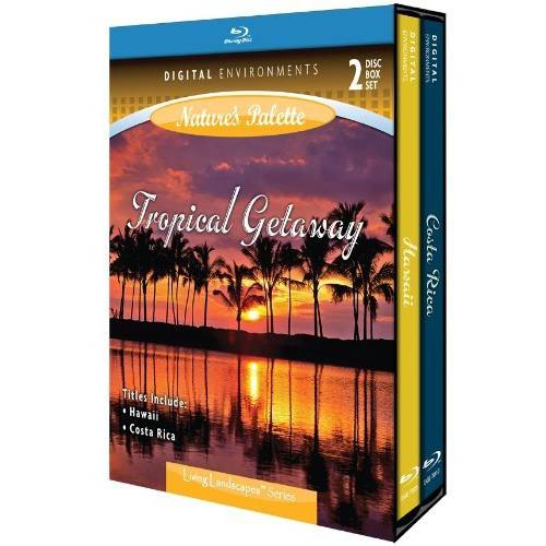 Living Landscapes: Tropical Getaway (Blu-ray) (Widescreen) by DIGITAL ENVIROMENTS