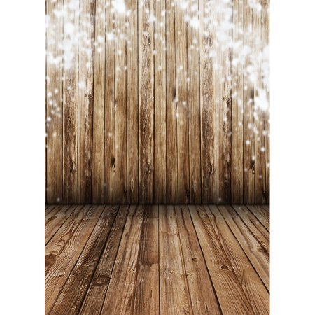 3x5FT Christmas Glitter Snow Wooden Wall Floor Photography Studio Backdrop Photo Background Valentine's - Glitter Backdrop