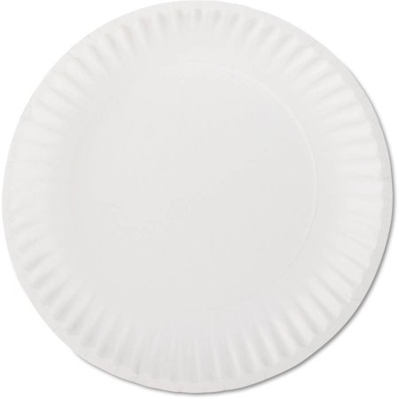 AJM Packaging Corporation 9 Inch Paper Plates, 1000 ct