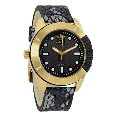Originals Black Dial Leather Mens Watch ADH3052
