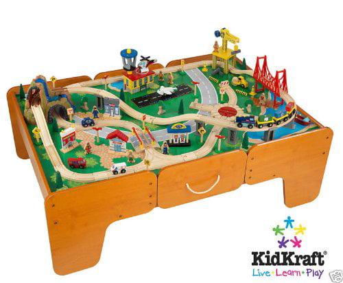 Kid Kraft Limited Edition Waterfall Mountain Train Table ...