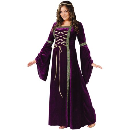 Renasissance Lady Adult Plus Halloween Costume](Plus Halloween Costumes)