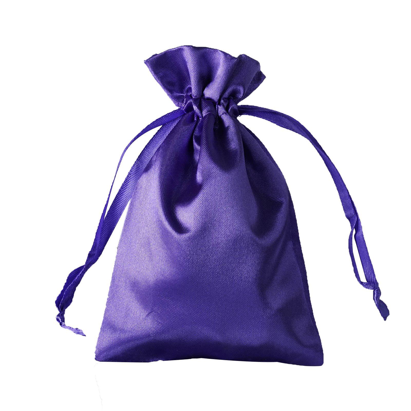 sold by the dozen 4 x 5 Organza drawstring white /& black bag