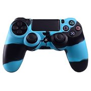 Silicone Rubber Case Skin Grip Cover For PlayStation 4 PS4 Controller
