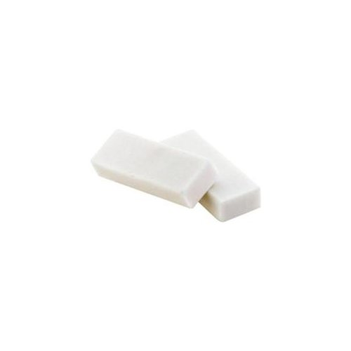 Baumgartens White Block Erasers 4-pk Latex-free, Phthalate-free, Pliable, Residue-free Plastic 4 pack White... by BAUMGARTENS