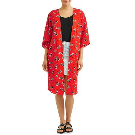- Women's Woven Kimono Jacket