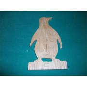 Fine Crafts 1332PUZ Penguin wooden jigsaw puzzle
