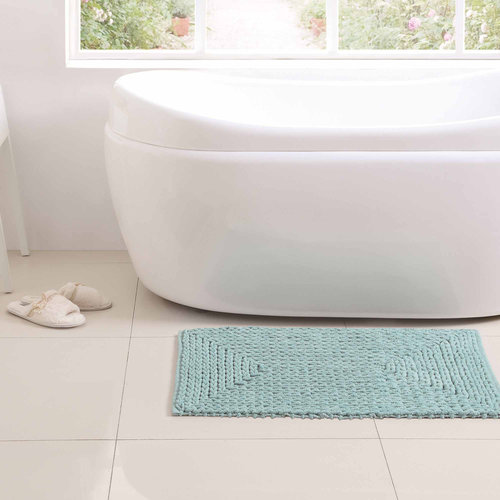 "Barron Cotton Chenille Bath Rug, 1'5"" x 2'"