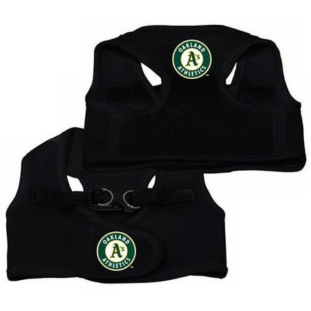 Oakland A Athletics MLB Dog Pet Mesh Large Vest/Harness Baseball Mesh Vest
