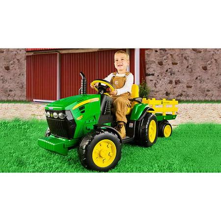 Peg Perego John Deere Ground Force 12 Volt Tractor Ride On