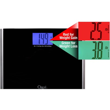 bathroom scale walmart. Ozeri Precision Pro II Digital Bath Scale  440 lbs Capacity with Weight Change Detection
