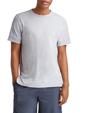 Russell Men's and Big Men's Active Yoga T-Shirt, up to 5XL