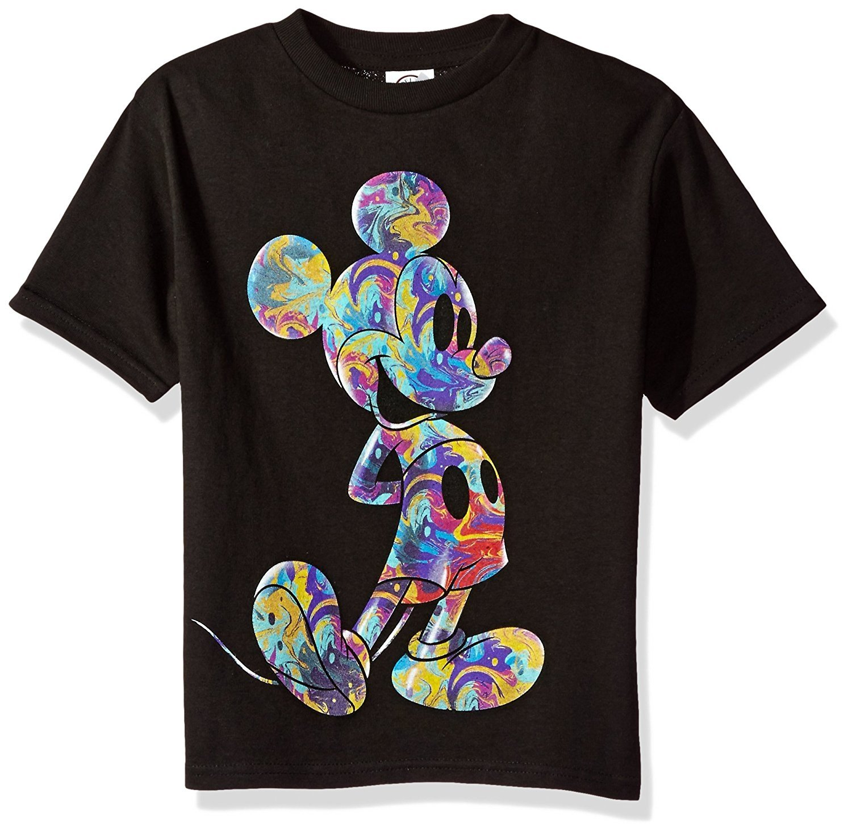 Disney Boys' Mickey Mouse Short Sleeve T-Shirt