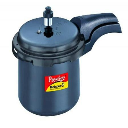 Prestige Deluxe Plus Hard Anodized Pressure Cooker,