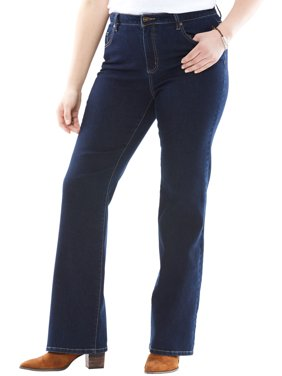 Woman Within Plus Size Perfect Bootcut Jean