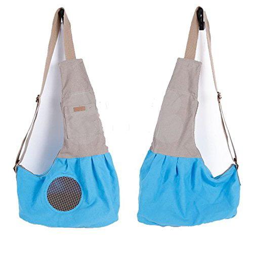 Fully Pet Cat Dog Sling Carrier Shoulder Carry Bag Handba...
