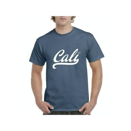 California Cali Men Shirts T-Shirt Tee California Dog T-shirt