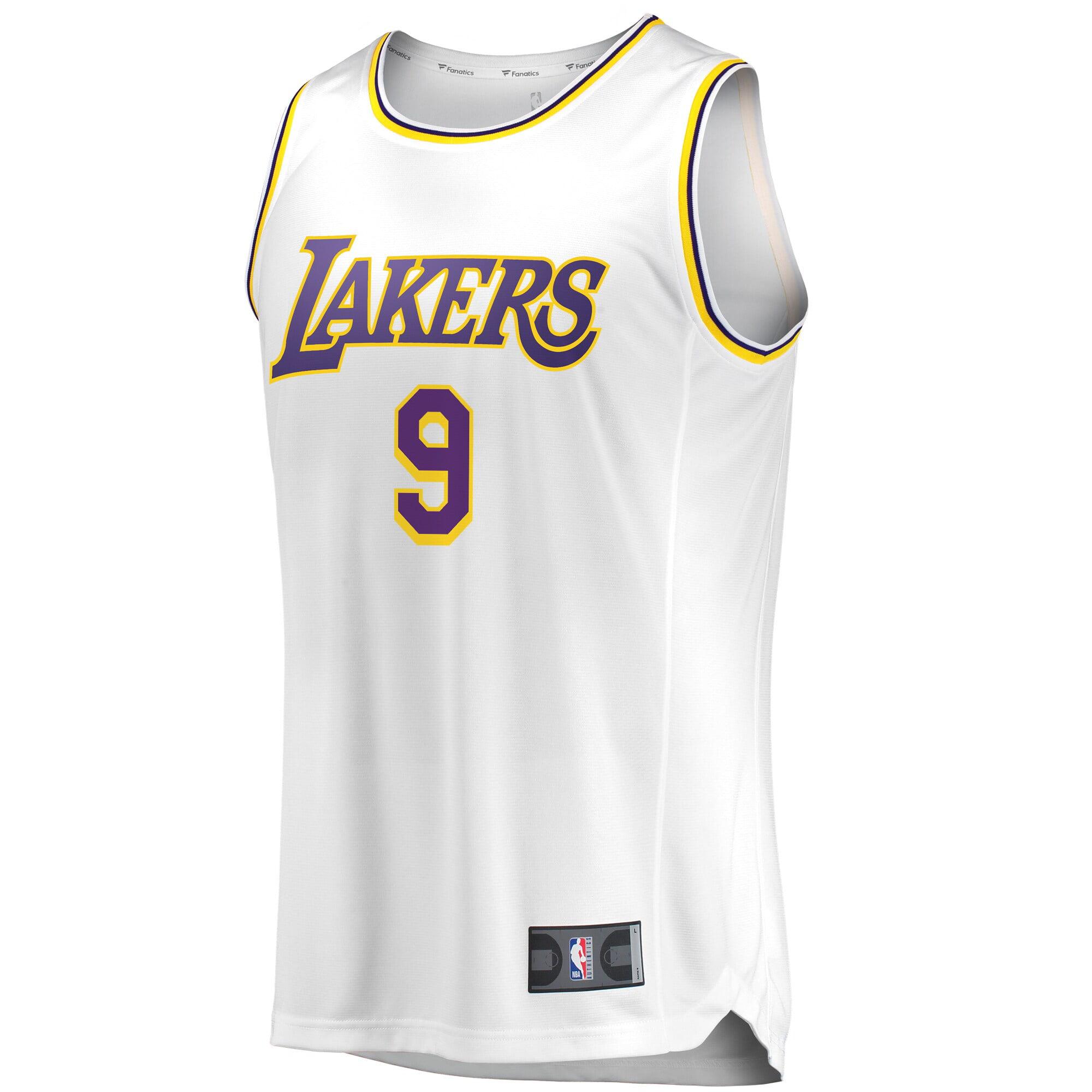 Rajon Rondo Los Angeles Lakers Fanatics Branded Fast Break Jersey ...
