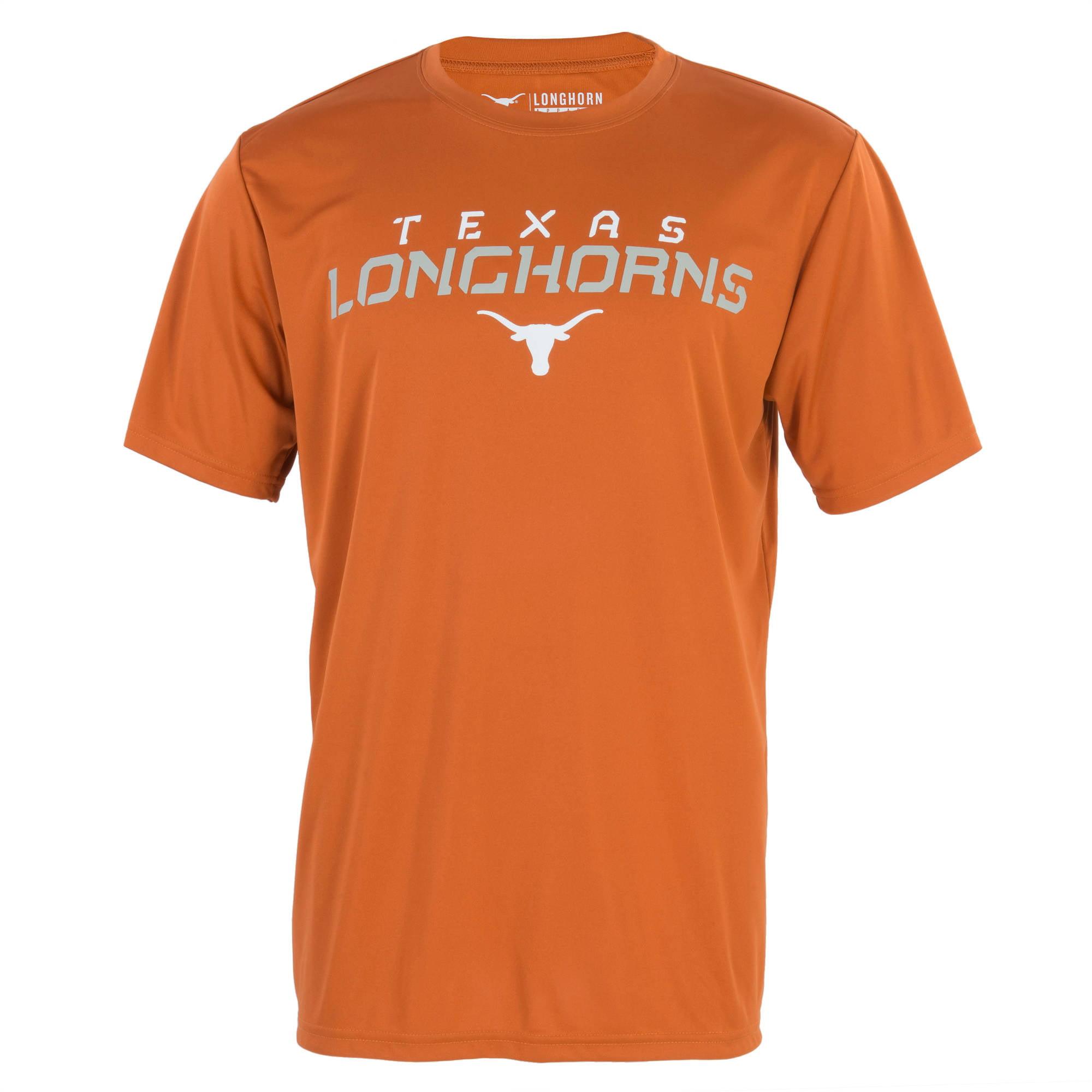 NCAA Texas Longhorns Big Men's Connector Performance Tee, 2XL