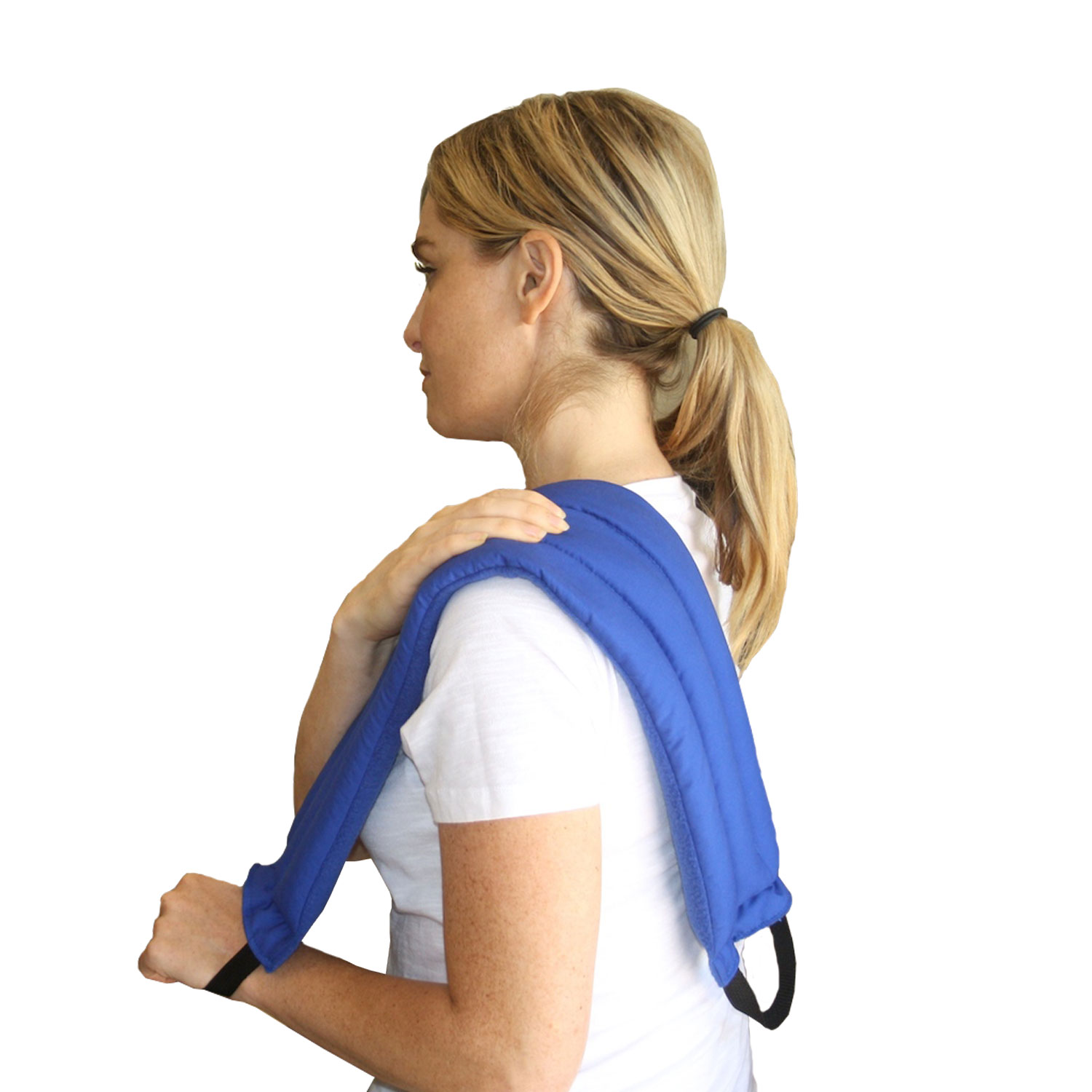 My Heating Pad- Multi Purpose Wrap - Natural Heat Therapy - Neck Pain Relief (Blue)