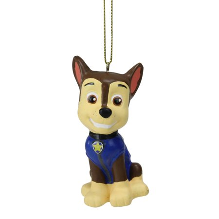 "Kurt S. Adler 3"" PAW Patrol Chase Police Dog Christmas Ornament - Blue"