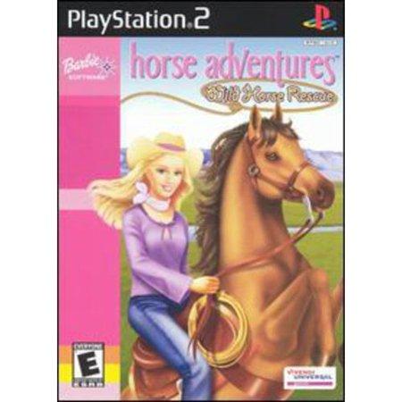 Barbie Horse Adventures: Wild Horse Rescue (Rescue Station)