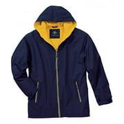 Charles River Apparel Unisex Adult Enterprise Jacket, XXXX-Large, Navy/Gold