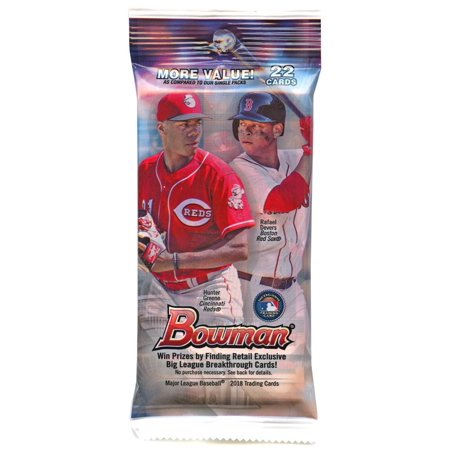 Mlb 2018 Bowman Baseball Trading Card Jumbo Pack