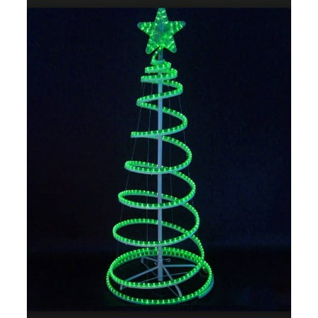 Led Lighted Outdoor Spiral Rope Light