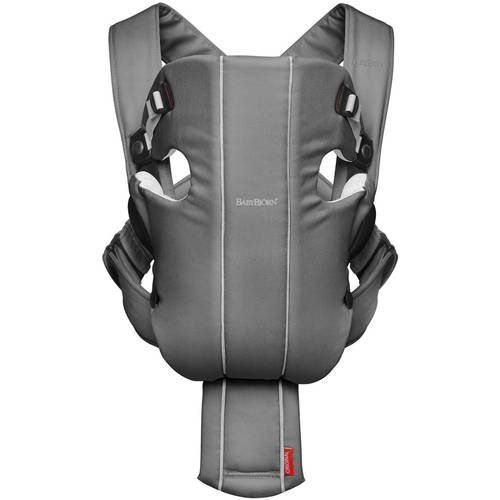 4db05aeeb08 BabyBjorn Baby Carrier Original - Dark Gray/Gray, Jersey Cotton -  Walmart.com