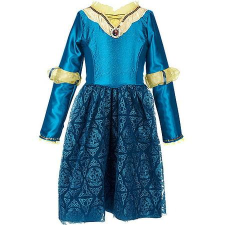 Disney Brave Merida Adventure Dress Child Costume - Brave Merida Costume
